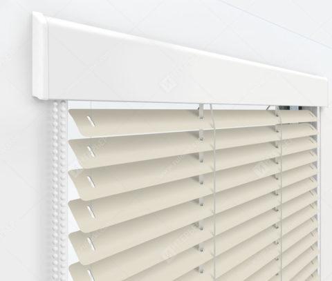 Жалюзи Изолайт 25 мм на пластиковые окна - цвет агатовый серый