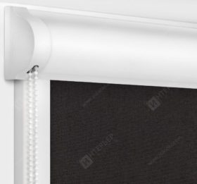 Рулонные кассетные шторы УНИ - Карина блэкаут шоколад