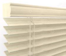 Бамбуковые жалюзи 50 мм, цвет белый 50K-301